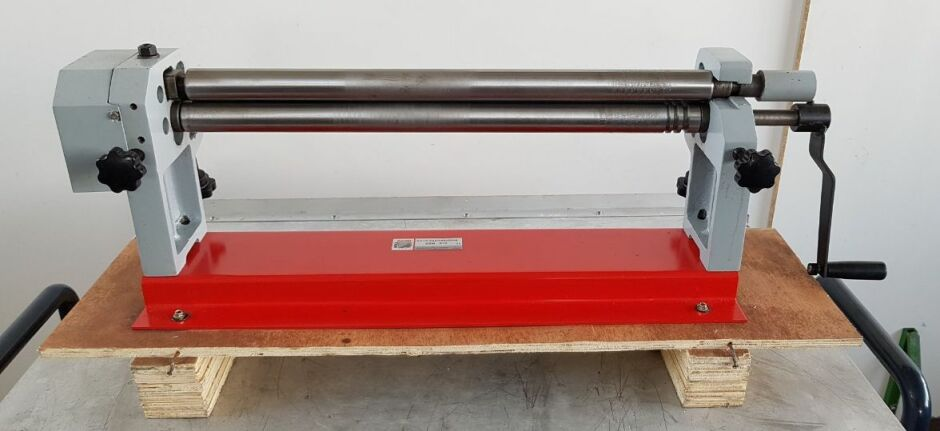 HOLZMANN RBM 610 Hand-operated 3-roll sheet metal bending