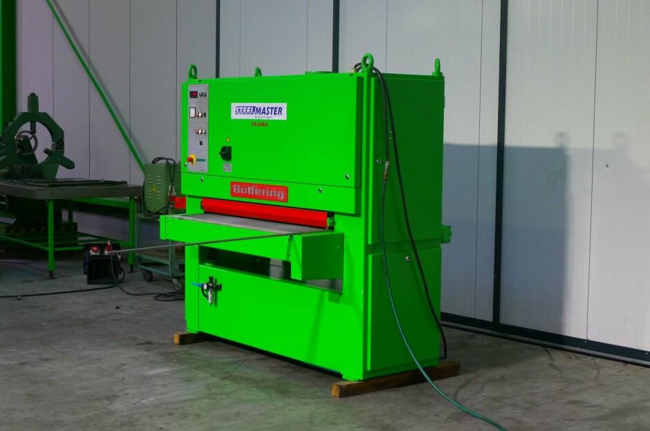 butfering steelmaster prima k 13 wide belt sander used