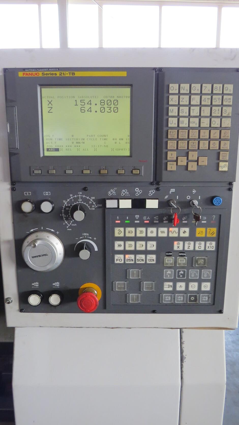 TAKISAWA TC-200 L3 CNC Lathe used | blechzulieferer com platform for
