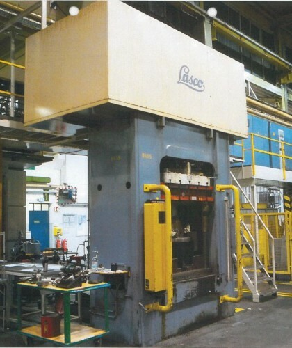 Lasco Umformtechnik Coburg Sop 250 Hydraulic Double Column Press